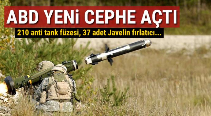 ABD'den Ukrayna'ya 47 milyon dolarlık silah