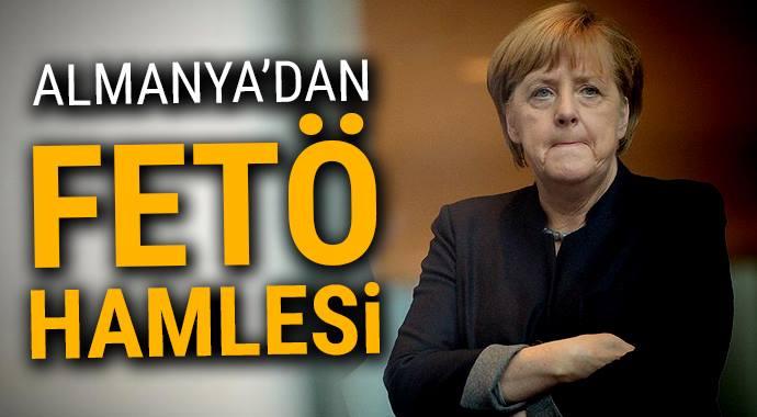 Almanya'dan FETÖ hamlesi!