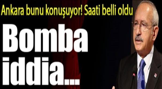 Ankara bunu konuşuyor! Saati belli oldu Bomba iddia