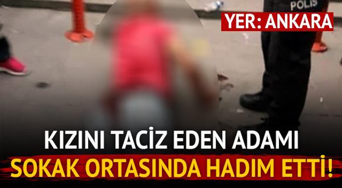 Ankara'da Dehşet! Kızını Taciz Eden Adamı Hadım Etti