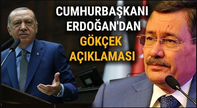 Başkan Erdoğan'dan Son Dakika Melih Gökçek Açıklaması