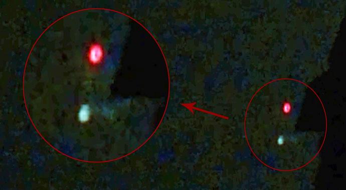 Çanakkale'de Çekilen İnanılmaz UFO Görüntüsü