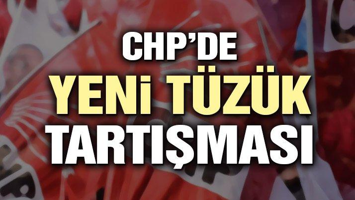 """CHP'de tüzük tartışması: """"CHP'nin kurucusu Atatürk'tür"""" ifadesi taslakta yok"""