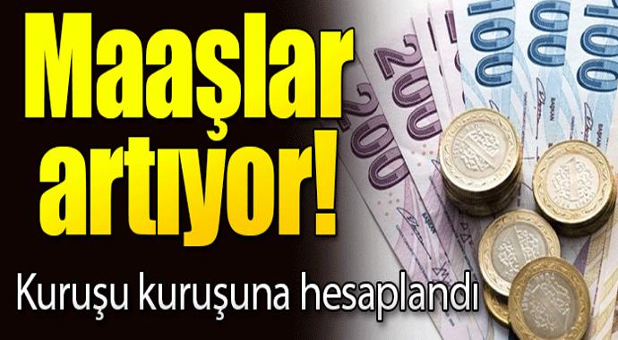 Emekli maaşları Ocak'ta 95 ile 530 lira arasında yükselecek