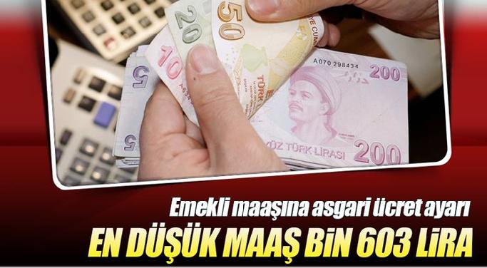 Emekliye müjde en düşük emekli maaşı asgari ücretle aynı olacak!
