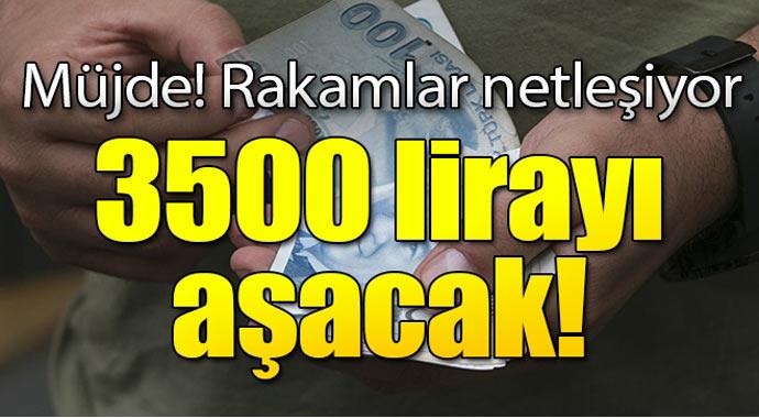 En düşük memur maaşı 3500 lirayı aşacak