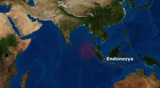 Endonezya'da 5,7 şiddetinde deprem oldu