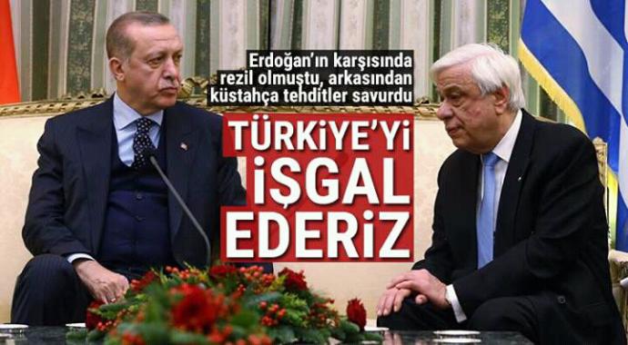 Erdoğan'ın karşısında rezil olmuştu arkasından küstah tehditler savurdu