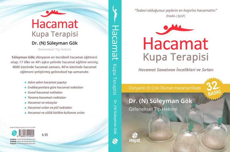 Dünyanın en çok satan Hacamat Kitabı 32. Baskı - Dr./N Süleyman Gök kaleminden