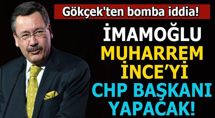 İmamoğlu, Muharrem İnce'yi CHP Genel Başkanı yapacak