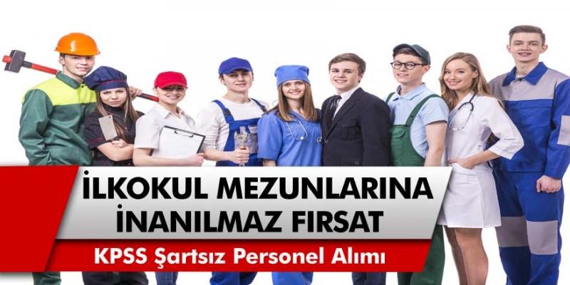 İŞKUR, İlkokul mezunlarına inanılmaz fırsat sunuyor: KPSS şartı olmadan hastane ve belediyelere personel alınacak…