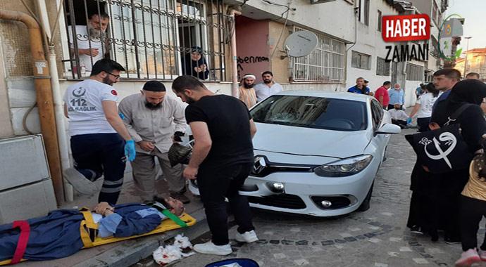 İstanbul Fatihte trafik kazası 2 yaralı
