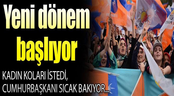 Kadın teşkilatları Cumhurbaşkanı Erdoğan'dan ne istedi?