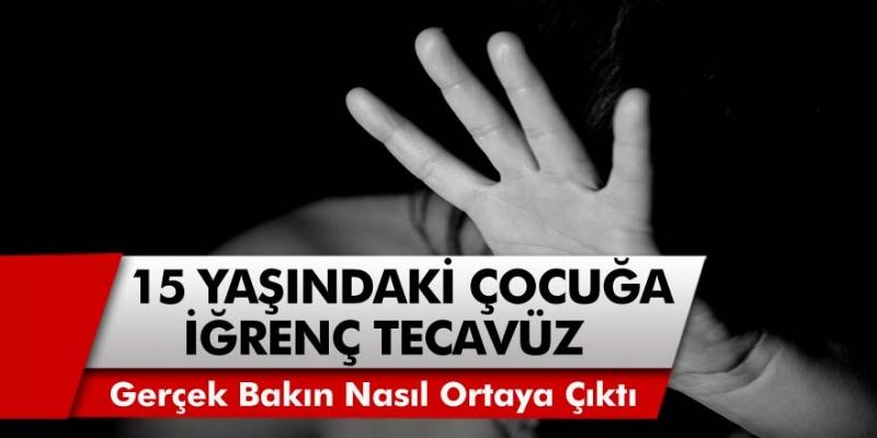 Korona Bulaştı Sandılar, Gerçek Hastanede Belli Oldu! 15 Yaşındaki Çocuğa İğrenç Tecavüz Ortaya Çıktı!