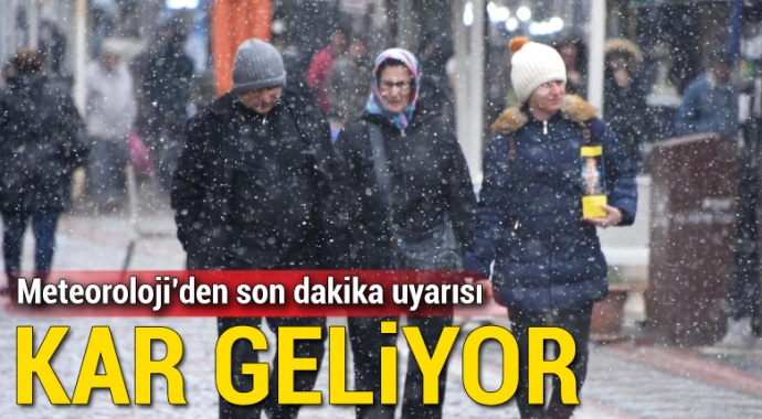 Meteorolojiden son dakika kar uyarısı! 7 Mart Hava Durumu