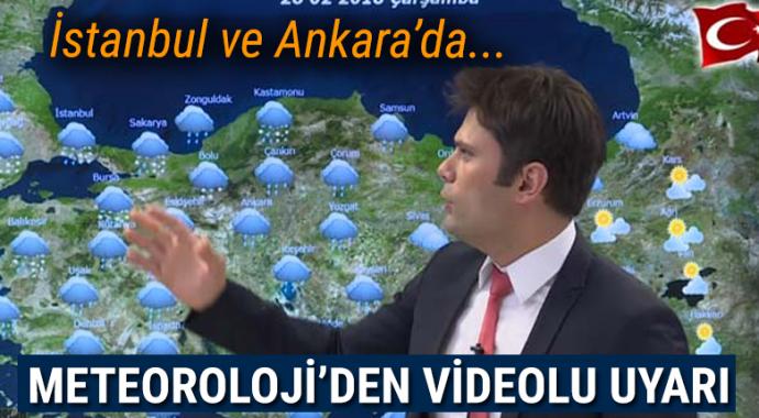 Meteoroloji'den videolu uyarı! Zirai don geliyor