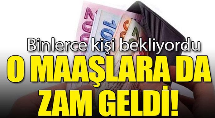 Müjde O Maaşlarada Zam Geldi!