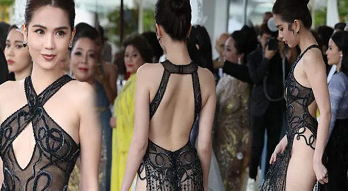 Ngoc Trinh'e kıyafeti nedeniyle soruşturma açıldı