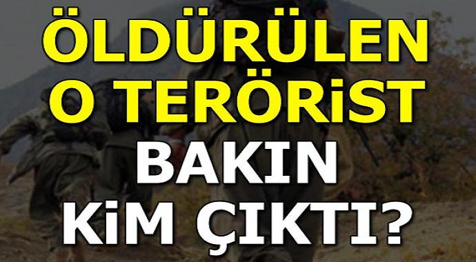 Öldürülen teröristler arasında bakın kim çıktı?