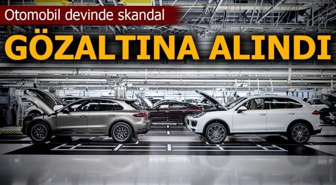 Otomotiv devi Porsche'de 'dizel gözaltısı' iddiası
