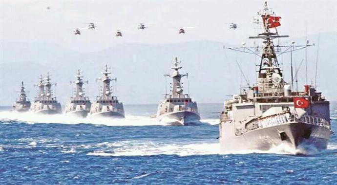 Savaş çığlıkları başlarken Türkiye'nin gücü düşmana korku saldı