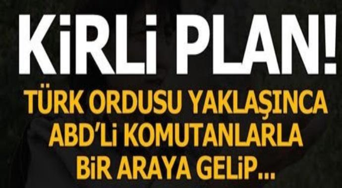 Son dakika: ABD korumasıyla PKK\'dan Kirli plan...