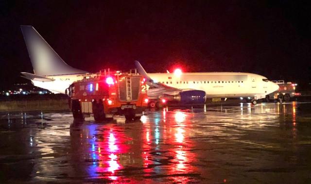 Son dakika: Erzurum'dan İstanbul'a gelecek olan uçakta yangın paniği
