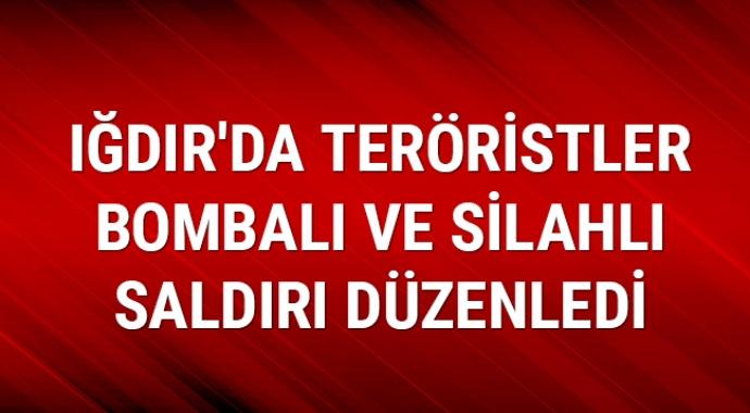 Son dakika: Iğdır'da İl Özel İdaresi ekibine bombalı terör saldırısı!
