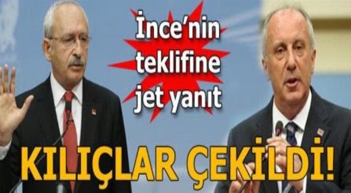 Son dakika   İnce'den Kılıçdaroğlu'na sürpriz teklif