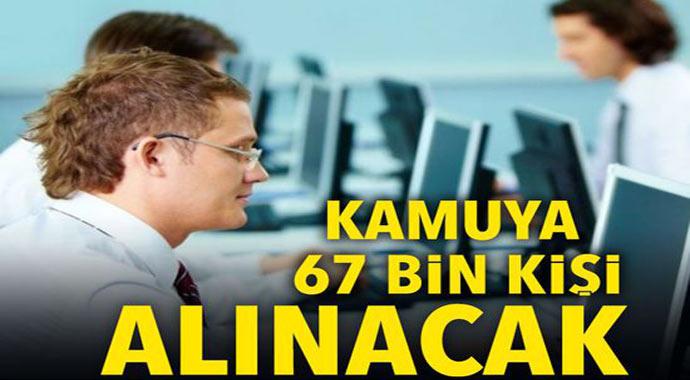 Son Dakika: başkan Erdoğan duyurdu! kamuya 67 bin kişi alınacak! işte kişi alınacak alanlar...