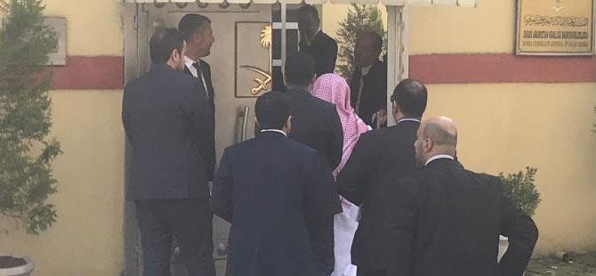 Son dakika…. Suudi Başsavcı olay yerini inceledi