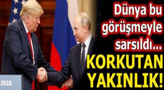 Son dakika... Tarihi zirve bitti: Trump ve Putin'den korkutan yakınlık!