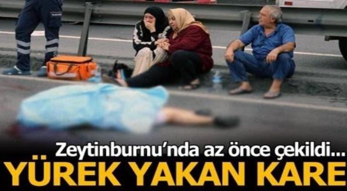 Son Dakika: Zeytinburnu D100 karaholunda kaza! Uzun süre başında gözyaşı döktüler