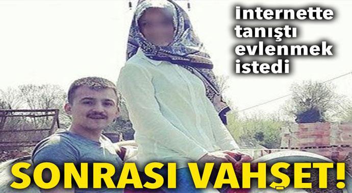İnternette tanıştığı kızı ailesi istemeyince dehşet saçtı