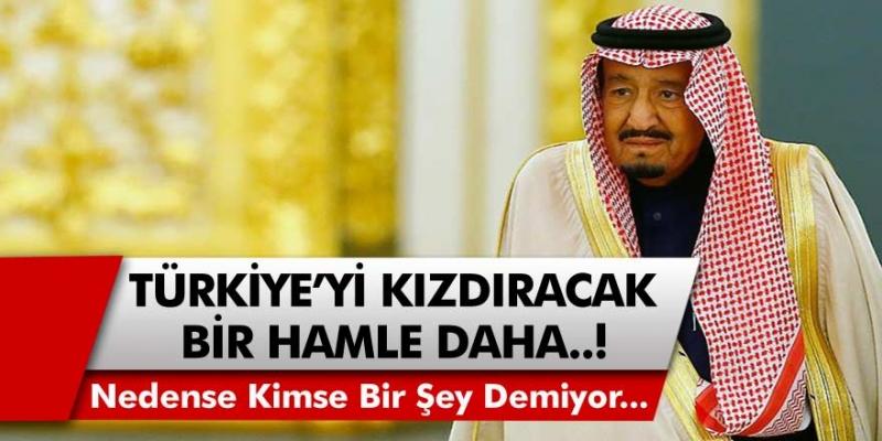 Suudi Arabistan'dan Türkiye'ye Büyük Terbiyesizlik! Bu Kadarı da Pes Dedirtti!