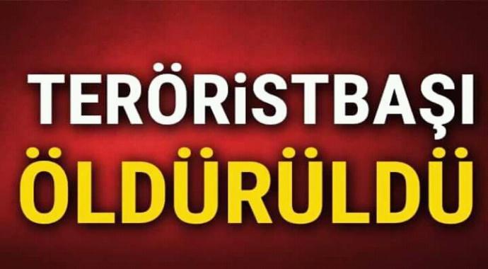 Terörist başı Öldürüldü