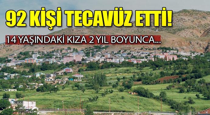 Türkiye'de akıl almaz olay! 14 Yaşındaki kıza 2 yıl boyunca 92 kişi tecavüz etti