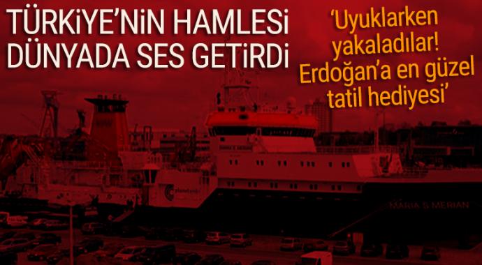Türkiye'nin hamlesi dünyada ses getirdi! 'Uyuklarken yakaladılar'