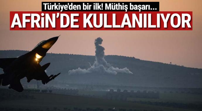 Türkiye'nin tanımlı en büyük komuta kontrol bilgi sistemi HvBS Afrin'de kullanılıyor