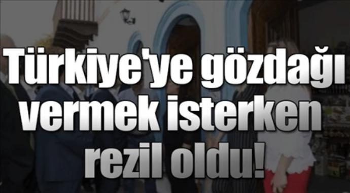 Türkiye'ye göz dağı verirken rezil oldu