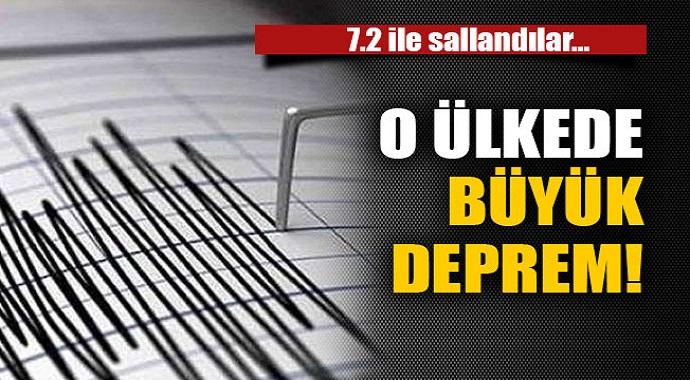 Ülke'de Çok Şiddetli Deprem!