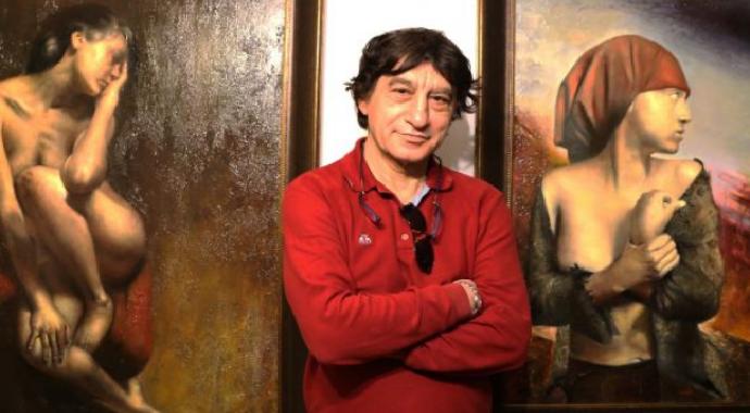 Ünlü ressam Eser Afacan kalp krizi geçirdi ve komada!