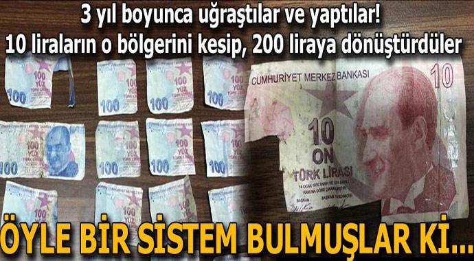 3 yıl boyunca uğraştılar ve yaptılar! 10 liranın o bölgesini kesip 200 lira yaptılar...
