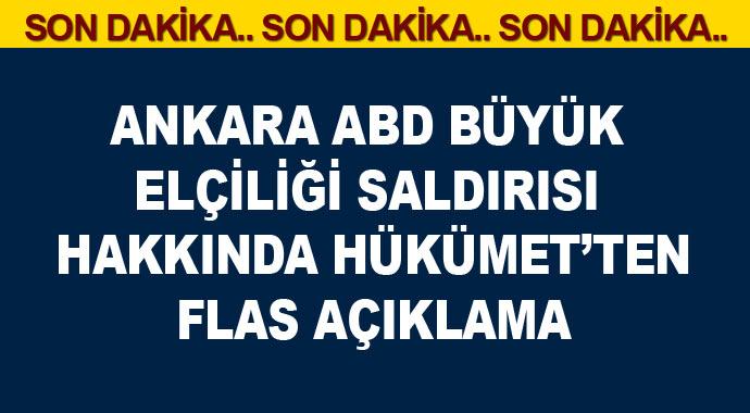 Ankara\'da ABD Büyükelçiliğine silahlı saldırısı Hakkında Hümetten Flas Açıklama