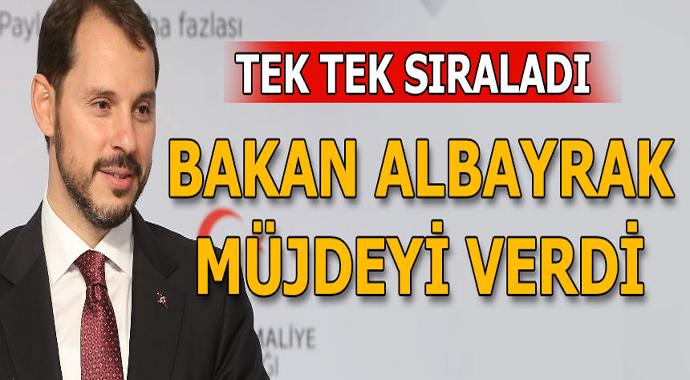 Bakan Albayrak Müjdeleri Ard Arda Sıraladı