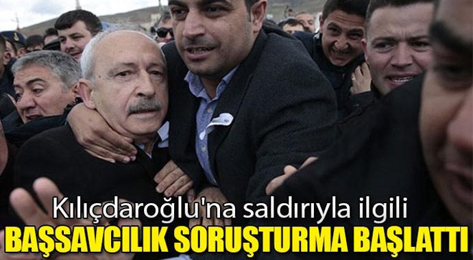Başsavcılık, Kılıçdaroğlu\'na saldırıyla ilgili soruşturma başlattı