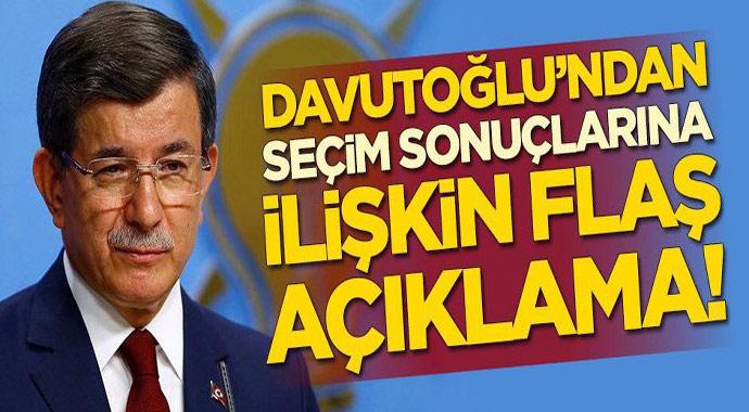 Davutoğlu'ndan seçim açıklaması! İstanbullular yenilenen Büyükşehir Belediye Başkanlığı seçimlerinde