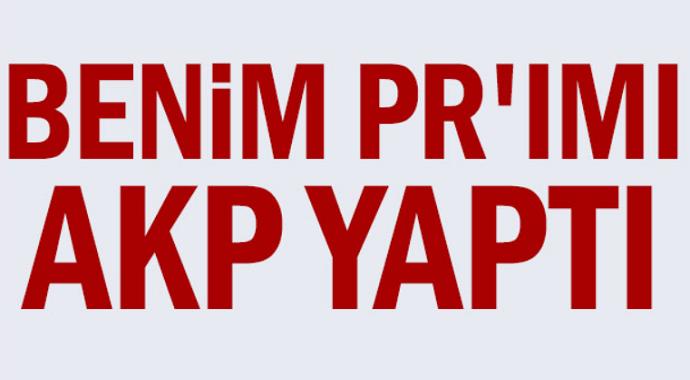 Ekrem İmamoğlu:Benim PR\'ımı AKP yaptı
