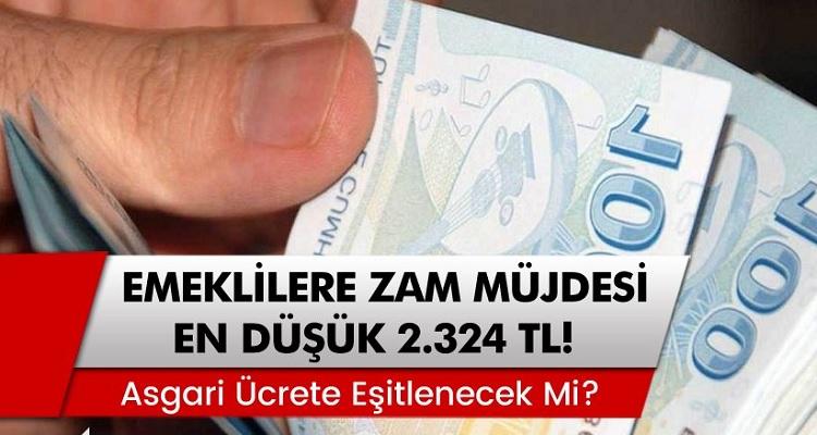 Emeklilere Temmuz Ayı Zam Müjdesi... Maaşlar En Düşük 2.324 TL!