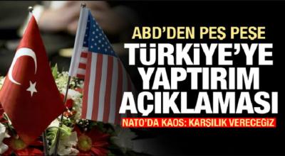 ABD'de Sıcak Gelişme! Türkiye'ye Yaptırım Sinyali